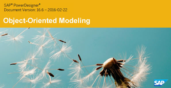PowerDesigner 16.6 Object-Oriented Modeling